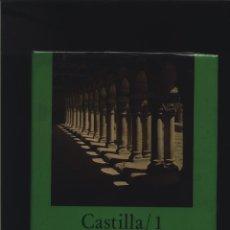 Libros: CASTILLA 1 BURGOS, LOGROÑO, PALENCIA Y SANTANDER. VOLUMEN 1 DE LA SERIE LA ESPAÑA ROMANICA. EN. Lote 140087926