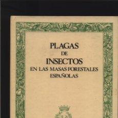 Libros: PLAGAS DE INSECTOS EN LAS MASAS FORESTALES ESPAÑOLAS MINISTERIO DE AGRICU GASTOS DE ENVIO GRATIS. Lote 140091054