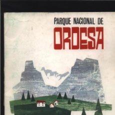 Libros: PARQUE NACIONAL DE ORDESA. FERNANDEZ - REYES MOLINA, JOSÉ MADRID, MINISTERIO DE AGRICULTURA, 1965.. Lote 140119214