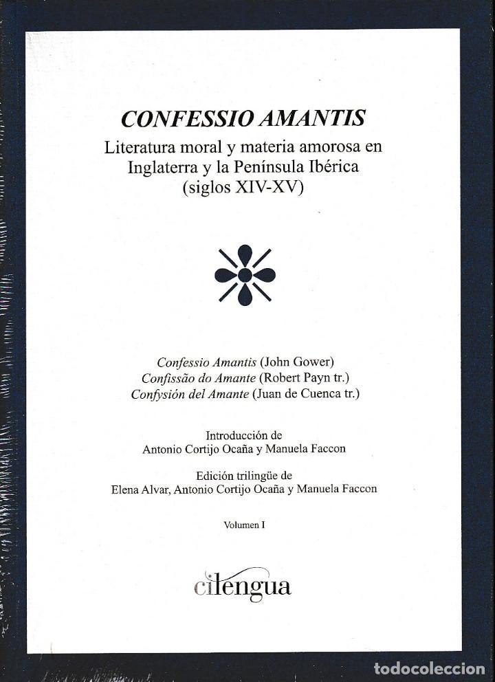 CONFESSIO AMANTIS - 2 VOLS. (JOHN GOWER) ED. TRILINGÜE. CILENGIA 2018 (Libros Nuevos - Literatura - Ensayo)
