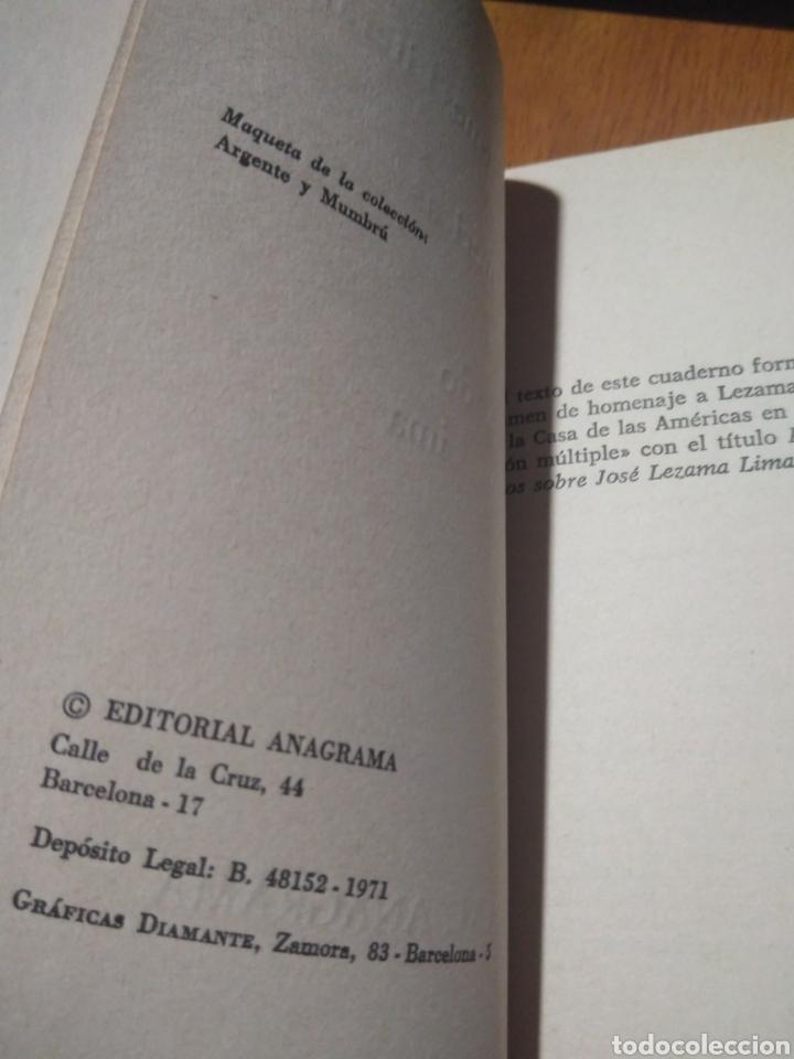 Libros: CENTRO DE INVESTIGACIONES CASA DE LAS AMERICAS. INTERROGANDO A LEZAMA LIMA. CUADERNO ANAGRAMA, 1971 - Foto 3 - 140625113