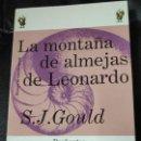 Libros: LA MONTAÑA DE LEONARDO ENSAYOS DE HISTORIA NATURAL S.J. GOULD. Lote 141660862