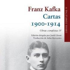 Libros: CARTAS (1900-1914) KAFKA, FRANZ PUBLICADO POR GALAXIA GUTENBERG, S.L. (2018) GASTOS GRATIS. Lote 143559446