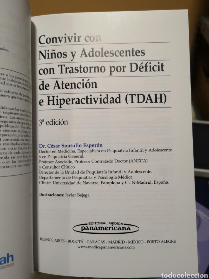 Libros: Convivir con niños y adolescentes con Trastorn o por Déficit de Atención e Hiperactividad. Soutullo. - Foto 4 - 150590864