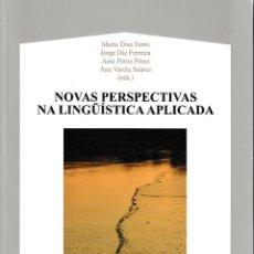 Libros: NOVAS PERSPECTIVAS NA LINGÜÍSTICA APLICADA (VV.AA.) AXAC 2018. Lote 152001386