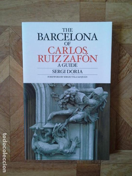 SERGI DORIA - THE BARCELONA OF CARLOS RUIZ ZAFÓN (Libros Nuevos - Literatura - Ensayo)
