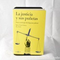 Libros: LA JUSTICIA Y SUS PUÑETAS. NUEVA ANTOLOGÍA DEL DISPARATE JUDICIAL - QUICO TOMÁS-VALIENTE Y PACO PARD. Lote 158677909