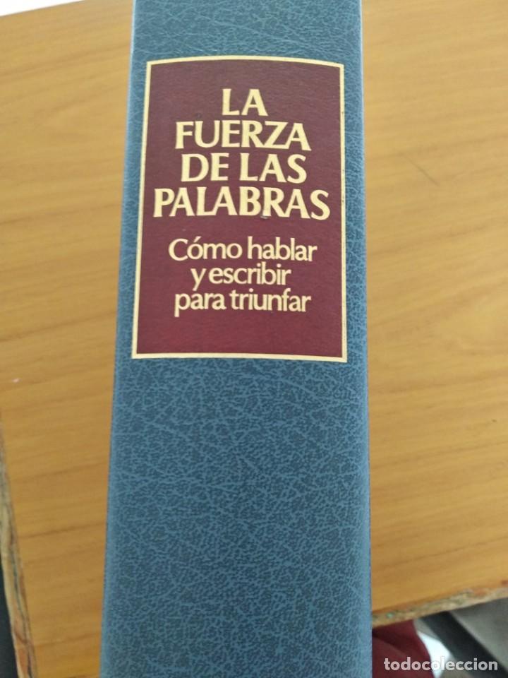 LA FUERZA DE LAS PALABRAS (Libros Nuevos - Literatura - Ensayo)