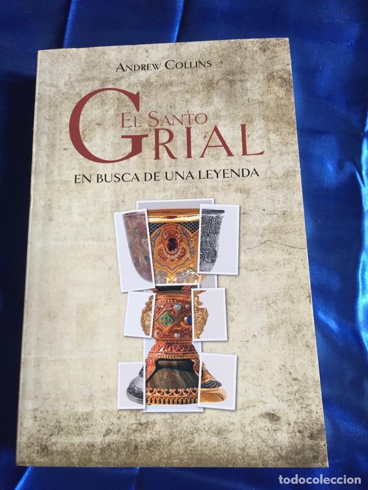 EL SANTO GRIAL EN BUSCA DE UNA LEYENDA (Libros Nuevos - Literatura - Ensayo)