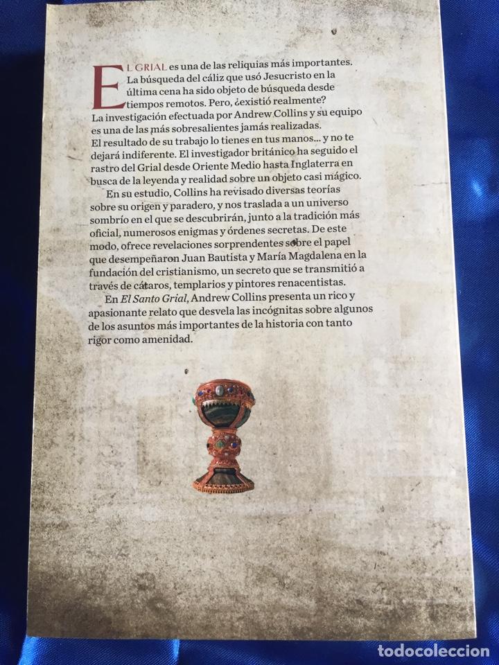 Libros: El Santo Grial en busca de una leyenda - Foto 2 - 168372118