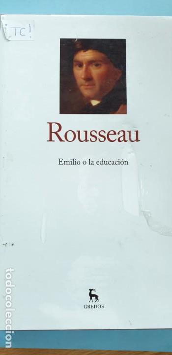 EMILIO O LA EDUCACCION BIBLIOTECA GREDOS ROUSSEAU (Libros Nuevos - Literatura - Ensayo)