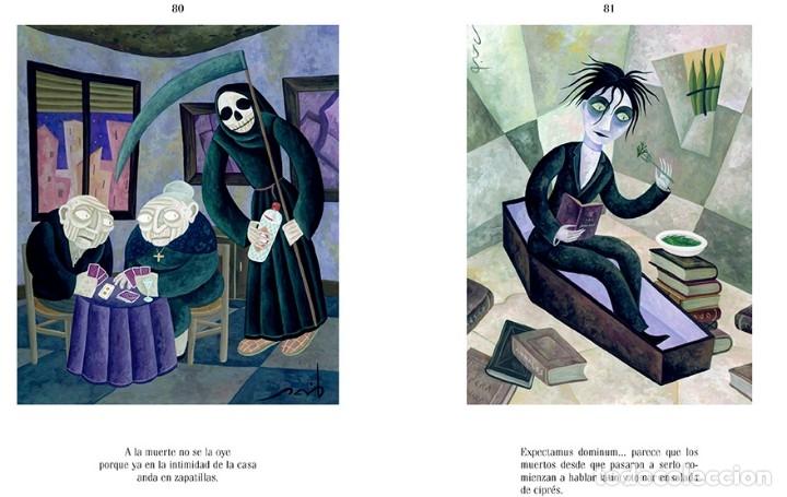 Libros: Ramón Gómez de la Serna NINFAS Y CALAVERAS, Textos seleccionados e ilustrados por David Vela - Foto 3 - 279351543