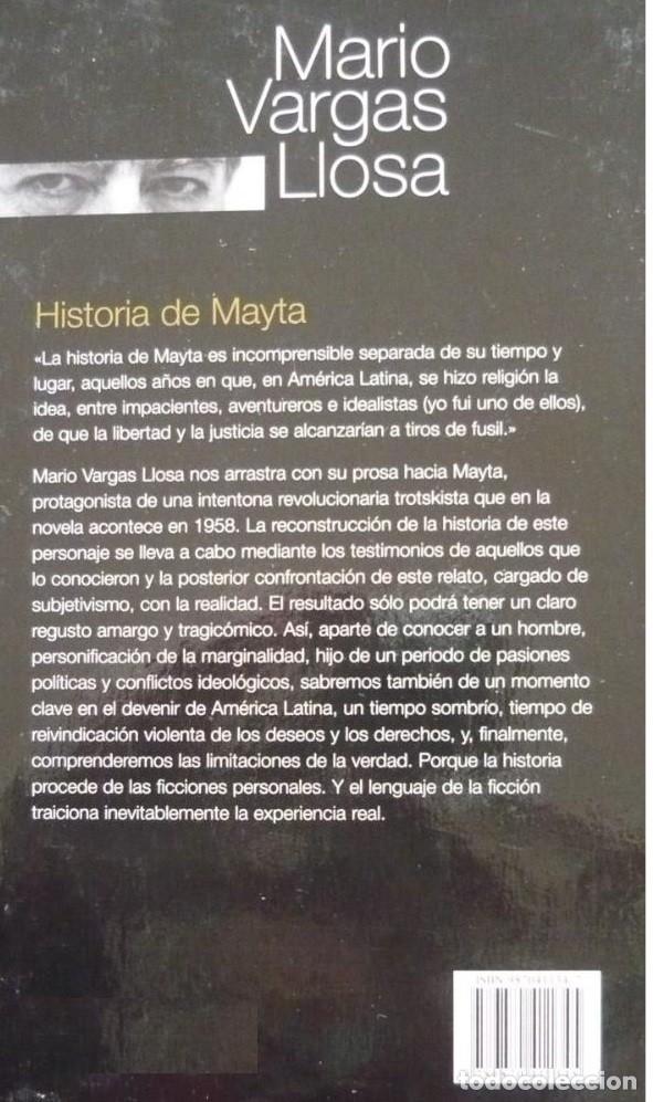 Libros: HISTORIA DE MAYTA, POR MARIO VARGAS LLOSA - Foto 2 - 174978998