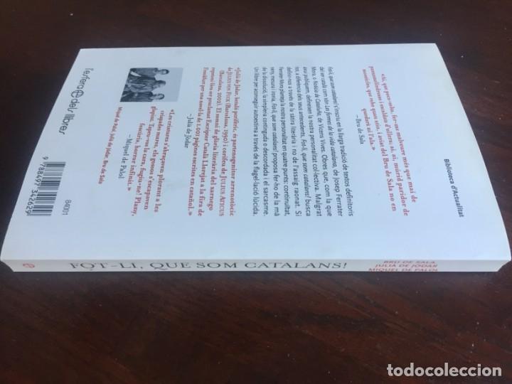 Libros: Fot-li, que som catalans! busca definir-nos a través de la sàtira literària i no de l'assaig raonat. - Foto 12 - 182506217