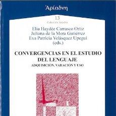 Libros: CONVERGENCIAS EN EL ESTUDIO DEL LENGUAJE (VV.AA) AXAC 2017. Lote 182843816