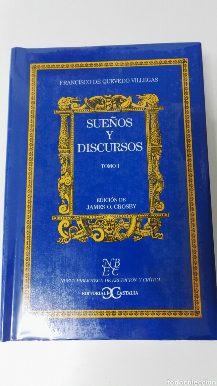 Libros: SUEÑOS Y DISCURSOS Francisco de Quevedo - Foto 3 - 183699666