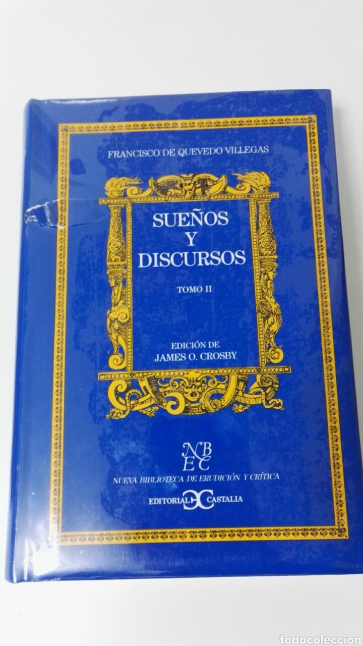 Libros: SUEÑOS Y DISCURSOS Francisco de Quevedo - Foto 4 - 183699666