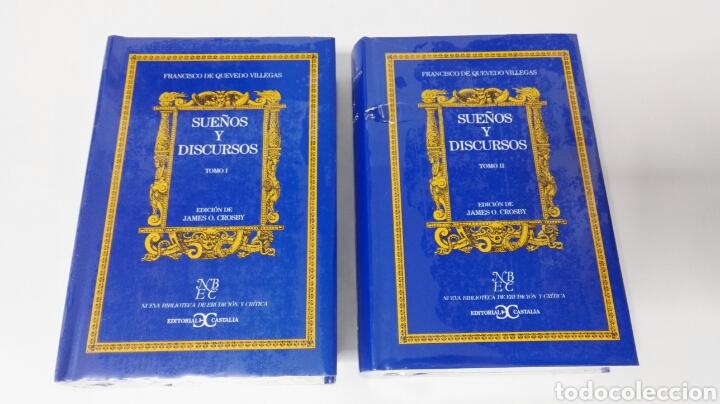 SUEÑOS Y DISCURSOS FRANCISCO DE QUEVEDO (Libros Nuevos - Literatura - Ensayo)