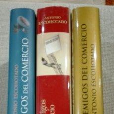 Libros: ANTONIO ESCOHOTADO TRILOGÍA LOS ENEMIGOS DEL COMERCIO. 3 T. LIBRO NUEVO TAPA DURA. PERFECTO ESTADO. Lote 188524523