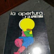 Libros: LA APERTURA... Y LA APRETURA , YALE. Lote 190627357