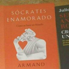 Libros: SÓCRATES ENAMORADO ARMAND D ANGOUR. LIBRO NUEVO. Lote 191543312