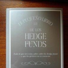 Libros: EL PEQUEÑO LIBRO DE LOS HEDGE FUNDS. ANTHONY SCARAMUCCI. DEUSTO. PLANETA 2019. PRIMERA EDICIÓN. Lote 193937607