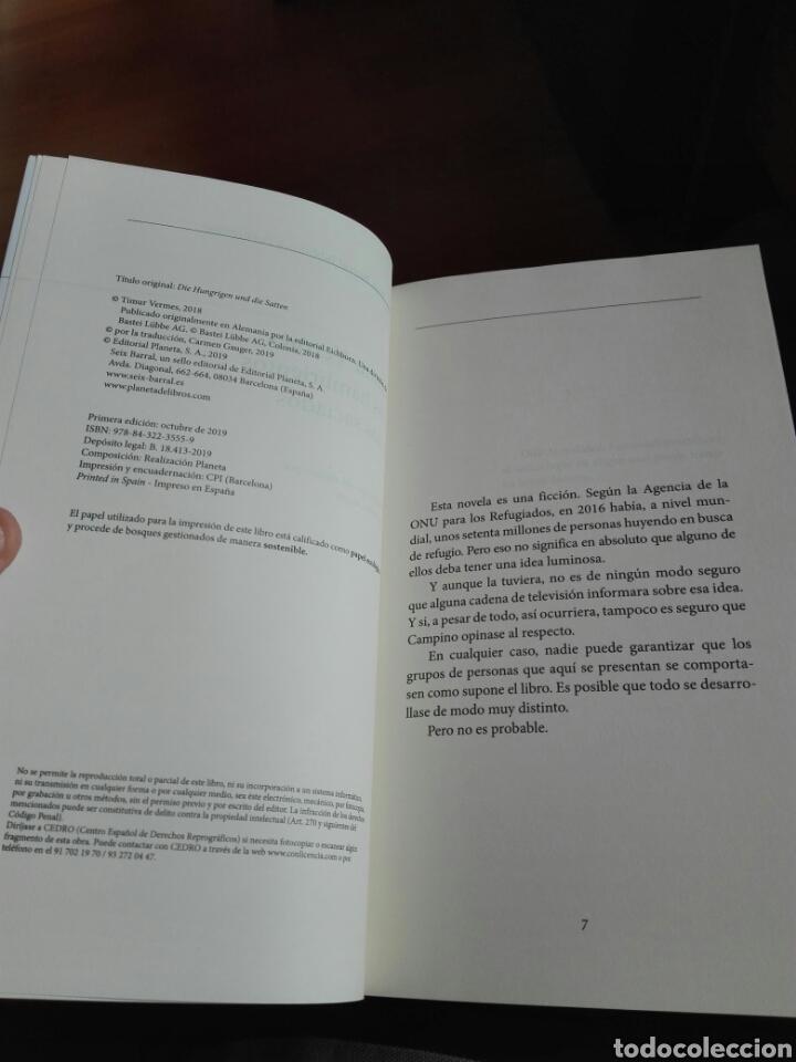 Libros: Los hambrientos y los saciados Timur Vermes libro nuevo - Foto 2 - 192648397