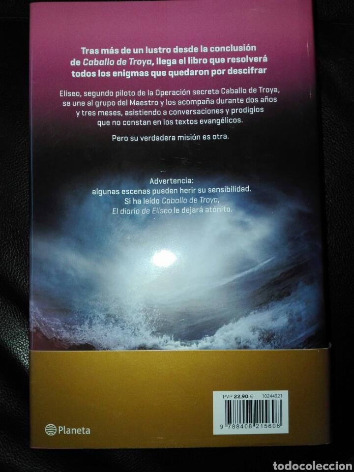 Libros: El diario de Eliseo. Caballo de Troya Confesiones del segundo piloto J. J. Benítez. Libro nuevo - Foto 3 - 198046856