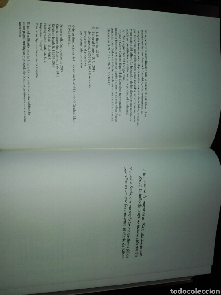 Libros: El diario de Eliseo. Caballo de Troya Confesiones del segundo piloto J. J. Benítez. Libro nuevo - Foto 4 - 198046856