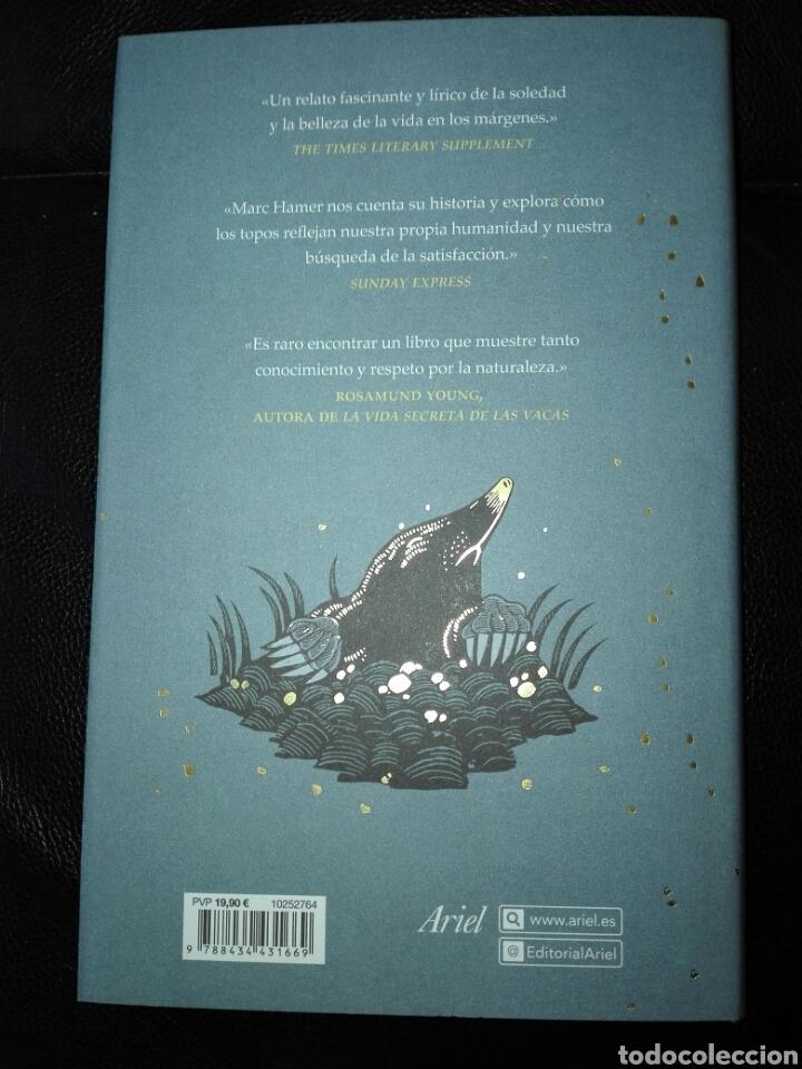Libros: Cómo cazar un topo Y encontrarte a ti mismo en la naturaleza Marc Hamer. Ariel. 2020. Libro Nuevo - Foto 3 - 198047957