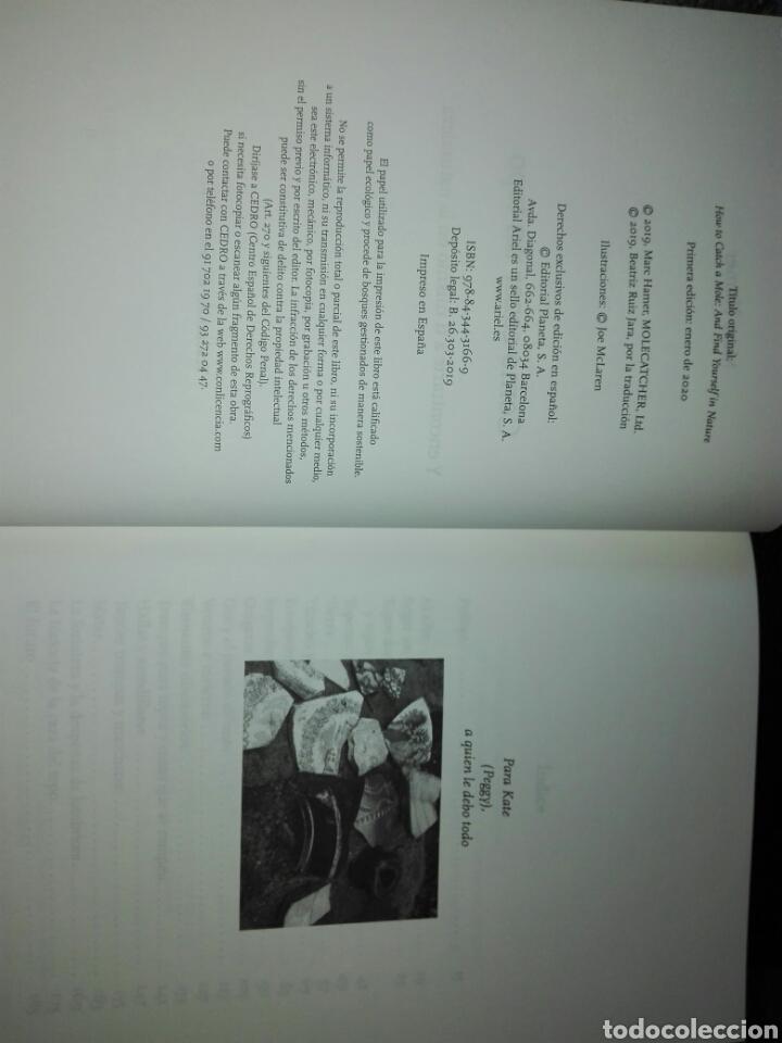 Libros: Cómo cazar un topo Y encontrarte a ti mismo en la naturaleza Marc Hamer. Ariel. 2020. Libro Nuevo - Foto 4 - 198047957