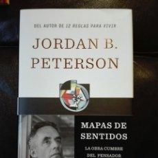 Libros: MAPAS DE SENTIDOS LA ARQUITECTURA DE LA CREENCIA JORDAN B. PETERSON. TAPA DURA.. Lote 198051047