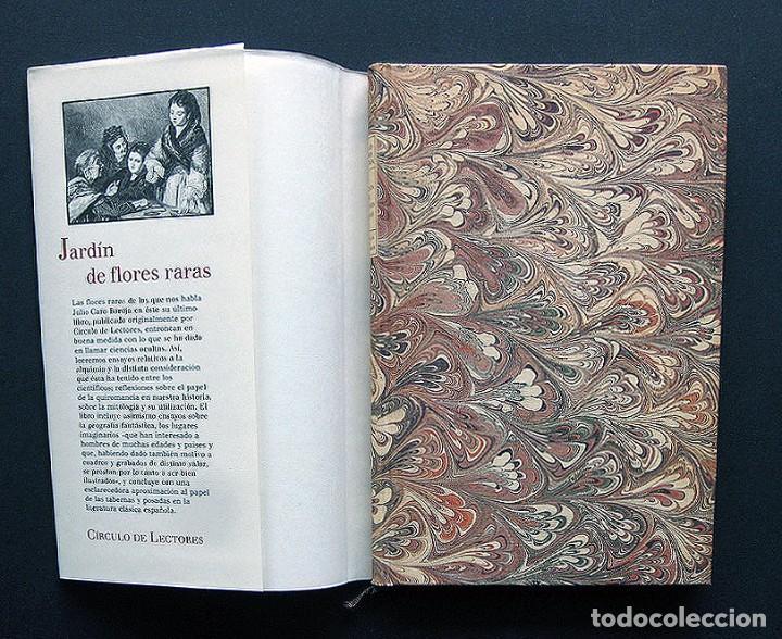 Libros: Jardin de flores raras – Julio Caro Baroja – Círculo de Lectores 1993 – Con Ex libris - Foto 2 - 200577027