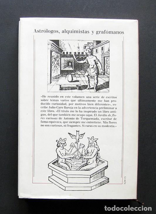 Libros: Jardin de flores raras – Julio Caro Baroja – Círculo de Lectores 1993 – Con Ex libris - Foto 5 - 200577027