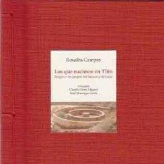 Libros: (BORGES, J.L.) CAMPRA, ROSALBA - LOS QUE NACIMOS EN TLÖN. BORGES O LOS JUEGOS DEL HUMOR Y DEL AZAR. Lote 278878943