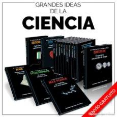 Libros: COLECCIÓN GRANDES IDEAS DE LA CIENCIA 15 LIBROS - VARIOS AUTORES (CARTONÉ DESCATALOGADO!!! OFERTA!!!. Lote 202365228