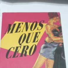Libros: MENOS QUE CERO . BREAST EASTON ELLIS. Lote 204490420