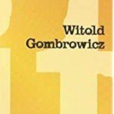 Libros: WITOLD GOMBROWICZ - CONTRA LOS POETAS -EJ. RARO. Lote 207165947