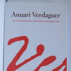 Libros: ANUARI VERDAGUER, NÚM. 12. 2004. Lote 209680616