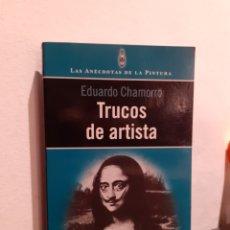 Libros: TRUCOS DE ARTISTAS. Lote 210206025