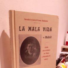 Livres: LA MALA VIDA EN MADRID. Lote 210284137