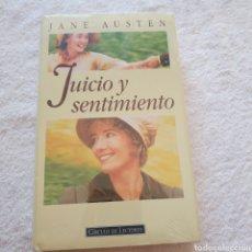 Libros: JUICIO Y SENTIMIENTO. Lote 210368002