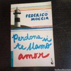 Libros: PERDONA SI TE LLAMO YO AMOR. FEDERICO MOCCIA. Lote 210664649