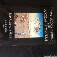 Libros: FRANCISCO DE EIXIMENIS Y SU SOCIEDAD URBANA IDEAL. Lote 210664909