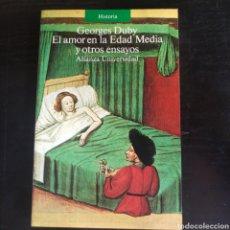Libros: EL AMOR EN LA EDAD MEDIA Y OTROS ENSAYOS. Lote 210665204