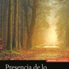 Libros: PRESENCIA DE LO SAGRADO EN EL CUENTO MARAVILLOSO (ETHEL JUNCO DE CALABRESE) EUNSA 2020. Lote 210668732