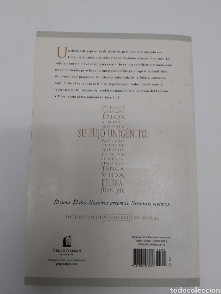 Libros: 3 : 16 LOS NÚMEROS DE LA ESPERANZA de Max Lucado - Foto 2 - 210778264