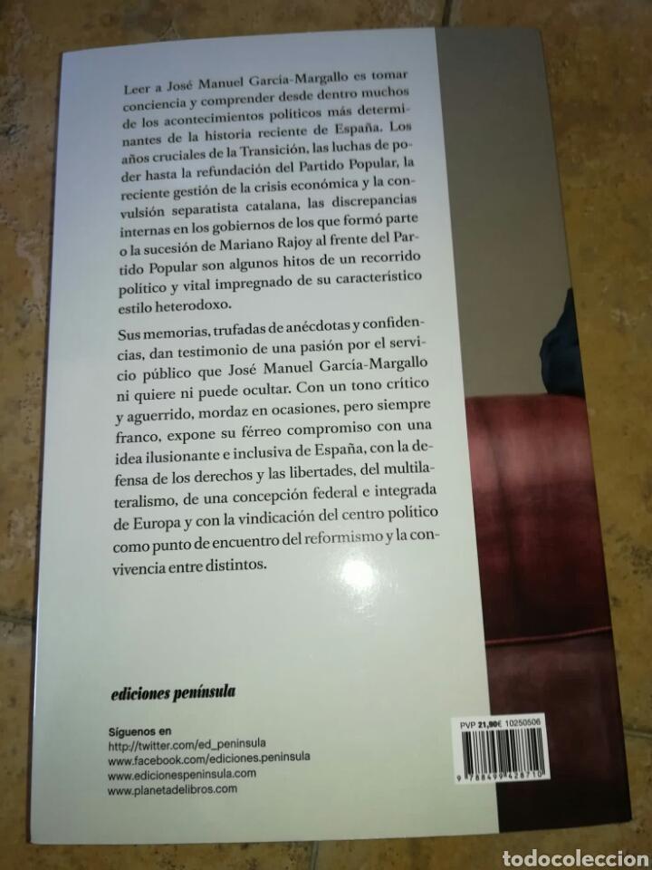 Libros: MEMORIAS HETERODOXAS. JOSÉ MANUEL GARCÍA-MARGALLO. Ediciones Península 2020. Libro nuevo - Foto 2 - 212892150