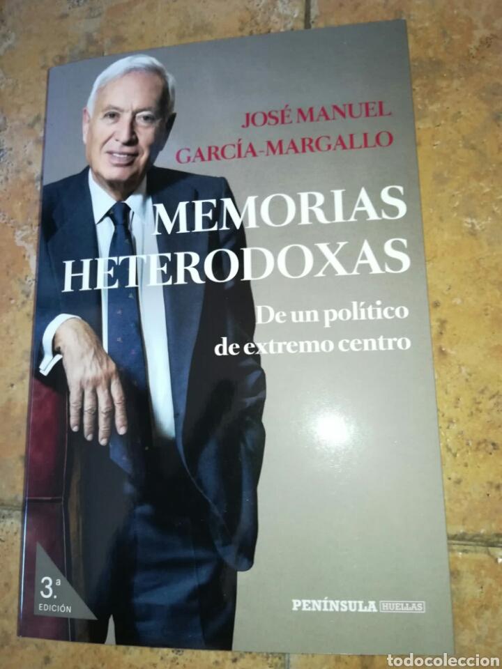 MEMORIAS HETERODOXAS. JOSÉ MANUEL GARCÍA-MARGALLO. EDICIONES PENÍNSULA 2020. LIBRO NUEVO (Libros Nuevos - Literatura - Ensayo)