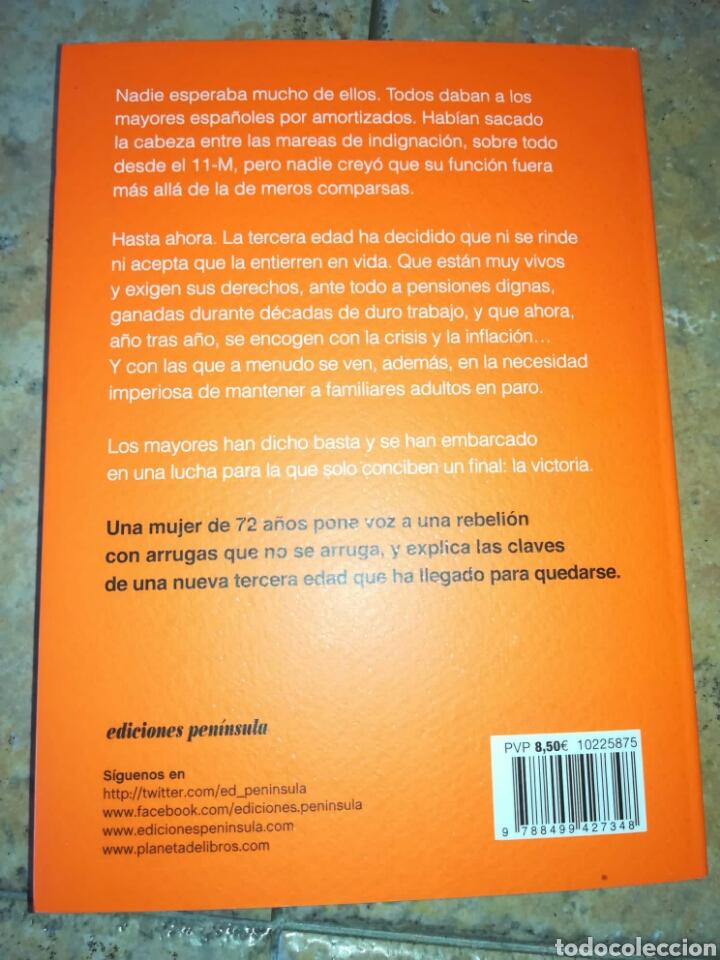 Libros: La Rebelión De Los Mayores. Porque La Indignación No Se Jubila Nunca Paca Tricio. Libro nuevo - Foto 2 - 212892451